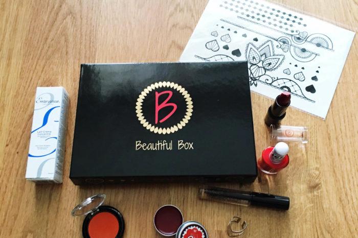 Beautiful Box, un coffret complet pour un visage bien maquillé