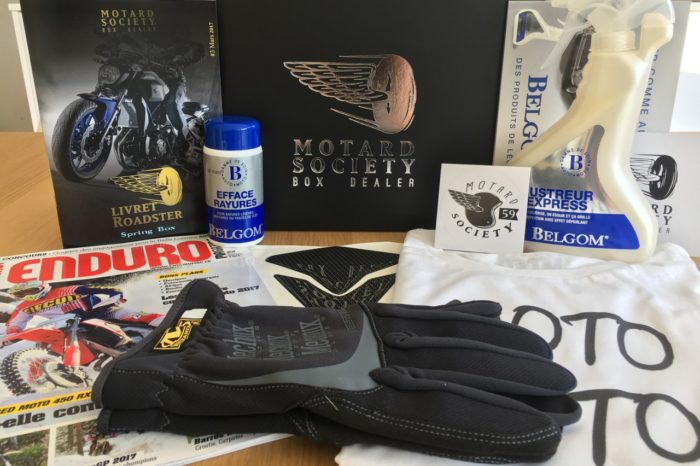 La box Motard Society, le kit indispensable pour les motards