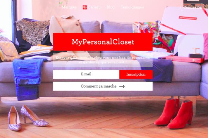 MyPersonalCloset, une box qui mise sur la personnalisation