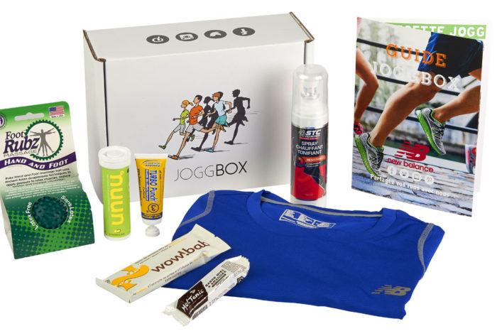 La box JoggBox, un concept conçu pour les coureurs